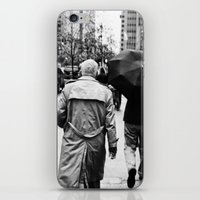New York Walker iPhone & iPod Skin