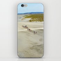 Pilgrims iPhone & iPod Skin