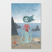 Sea Maiden Canvas Print