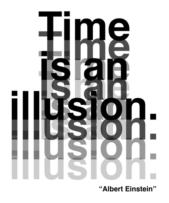 Illusion (Albert Einstein)  Art Print