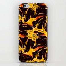 Autumn Fire Fractal iPhone & iPod Skin