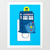 Who watches over you Art Print