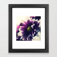 Mother's Day Purple Flower Framed Art Print
