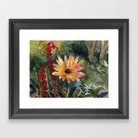 Vibrant Blossom Framed Art Print