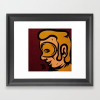 Crime Spree Framed Art Print