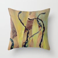 Tentacle Nest Throw Pillow