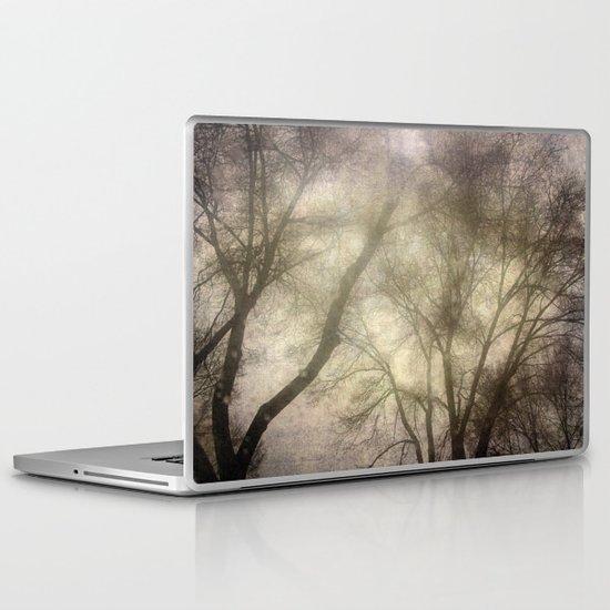 Interlocking trees Laptop & iPad Skin