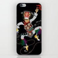 Peruvian Scissors Dancer iPhone & iPod Skin