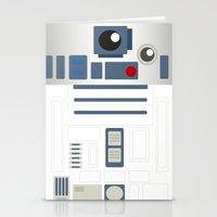 StarWars - R2D2 Stationery Cards
