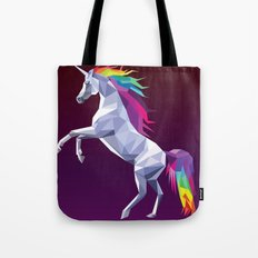 Geometric Unicorn Tote Bag