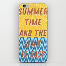 Summertime - A Hell Songbook Edition iPhone & iPod Skin