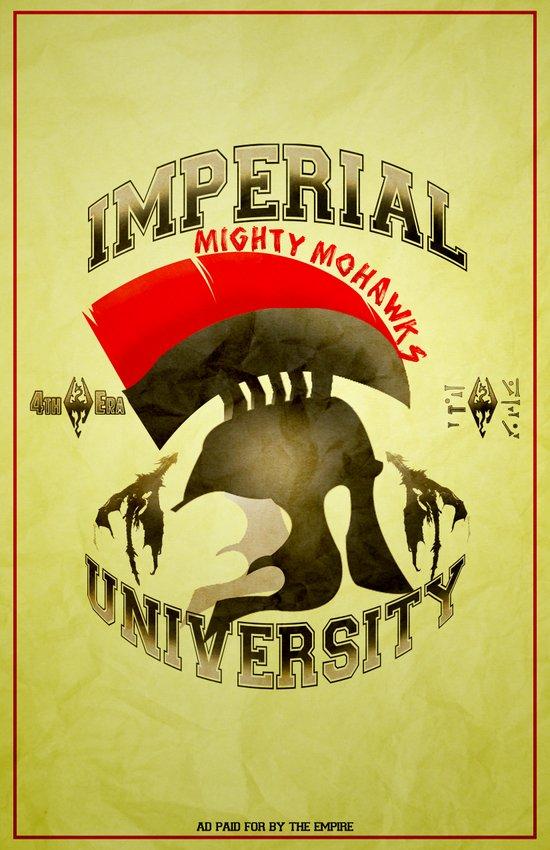 Imperial University(Skyrim) Art Print