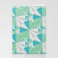 Light Colored Circles Stationery Cards