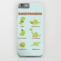 iPhone & iPod Case featuring DANDYSAURUS by AnishaCreations
