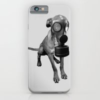 Gas Mask Dog iPhone 6 Slim Case