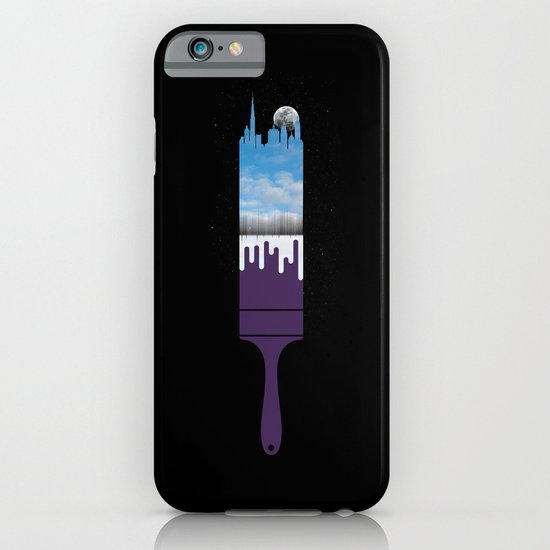Paint the Night with Day iPhone & iPod Case