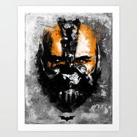 Bane Rhymes With Pain Art Print