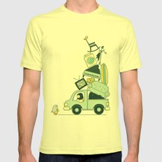There's still room for one more Mens Fitted Tee SMALL Lemon