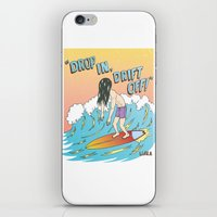 Drop In, Drift Off! iPhone & iPod Skin
