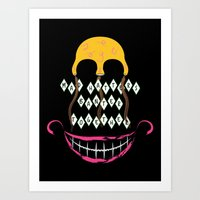 Mad Hatters Art Print