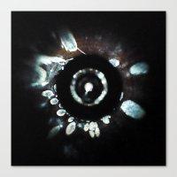 Crystallize Canvas Print