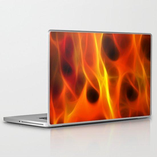 Flames Laptop & iPad Skin