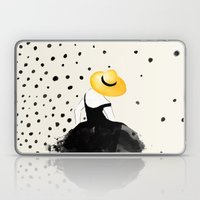Polka Rain II Laptop & iPad Skin