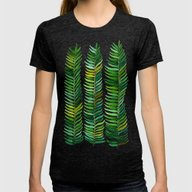Seaweed Womens Fitted Tee Tri-Black SMALL