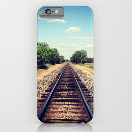 Railroad Tracks iPhone & iPod Case