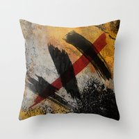 The Scar Throw Pillow