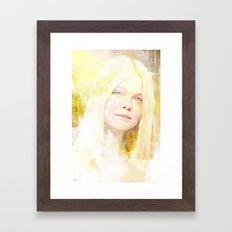 It was in August Framed Art Print