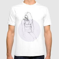 Rachel White Mens Fitted Tee SMALL