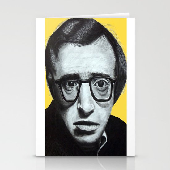 Woody Allen Stationery Card