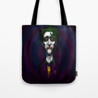 Sad Joker Tote Bag