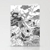 Cycloptic Samurai Stationery Cards