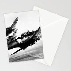 Vintage fighters Stationery Cards