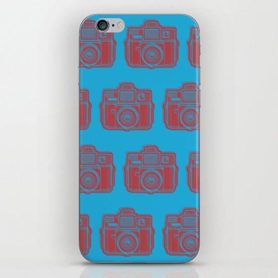 I Still Shoot Film Holga Logo - Blue & Red iPhone & iPod Skin