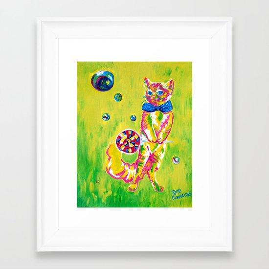 Pussypop Framed Art Print