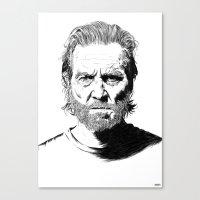 Jeff Canvas Print