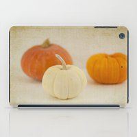 Three Little Pumpkins iPad Case