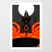 Aaron Gideon Art Print