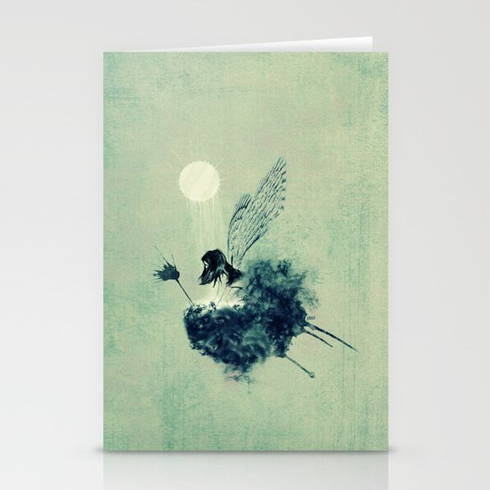 Fairy Calypso Stationery Card