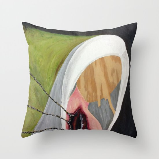 Empty Souls Throw Pillow