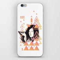 Noir Series 002. iPhone & iPod Skin