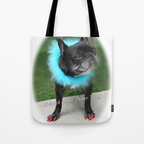 Diva Dog Tote Bag