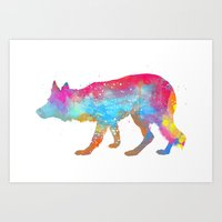 Collie Art Print