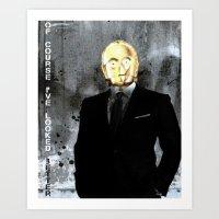 UNREAL PARTY 2012 C3PO Z… Art Print