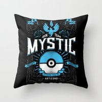 A Mystical Decision  Throw Pillow
