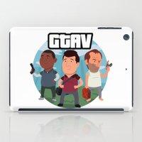 Grand Theft Auto V Carto… iPad Case