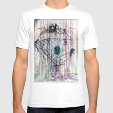 ... Mens Fitted Tee SMALL White